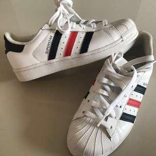 Adidas Superstar French Stripes