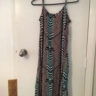 Long Glassons dress. Size 8 can fit size 10