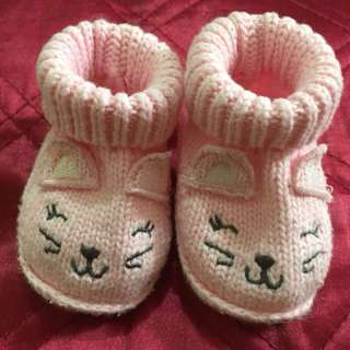 Kitty Knitted Shoes