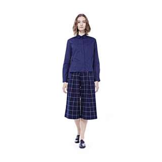 Checkered Culottes Size 8 - Editor's Market excellent condition