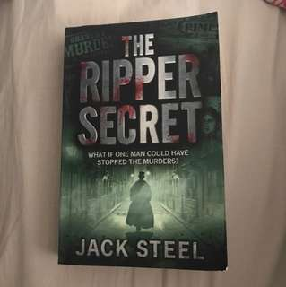 "NEW + UNUSED BOOK ""THE RIPPER SECRET"""