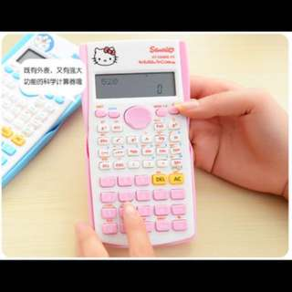 Hello Kitty Scientic Calculator