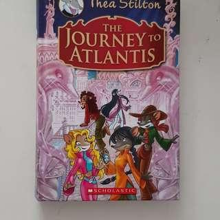 Thea Stilton The Jouney to Atlantis