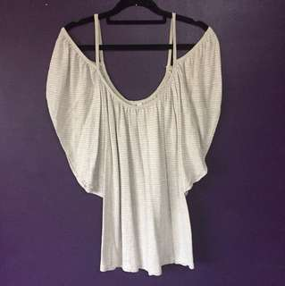 Size 10 Forever New off the shoulder top