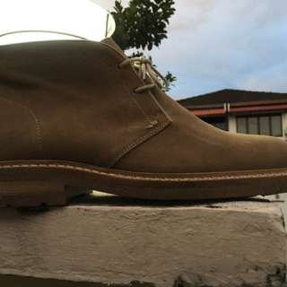 Massimo Dutti Suede Chukka Boots