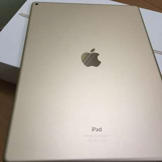 Ipad 128GB 12.9吋金色,$4000,不議價,正常運作