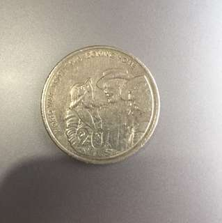 World War 1939-1945 coming home 20c coin