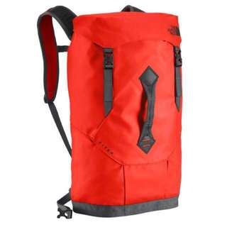 The North Face Base camp Citer Haversack/ Backpack | ACRYLIC RED/TNF BLACK