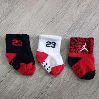 Jordan Socks 6 - 12 Months