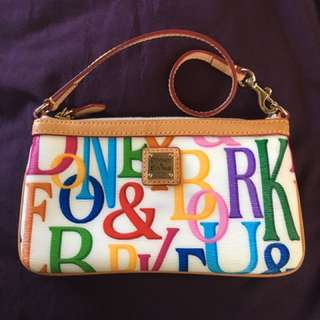 Authentic Dooney & Bourke wristlet