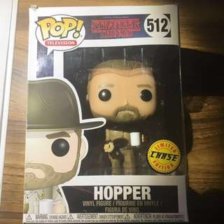 Stranger Things Hopper Rare Chase Funko Pop