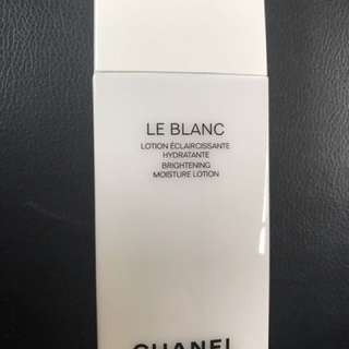 Chanel hydratante brightening moisture lotion 95% full