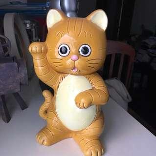 極罕What's Michael 招財貓陶瓷儲金箱