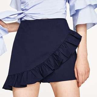 ZARA Frill Shorts