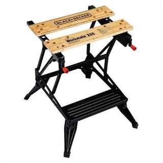 Black & Decker Workmate 225: Dual Height Portable Workbench