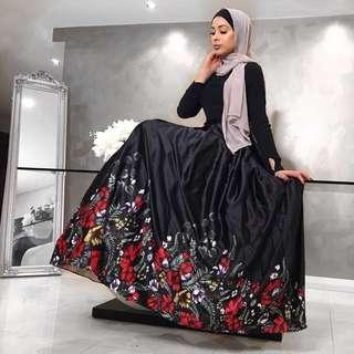 Hijab House floral Skirt