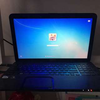 Toshiba laptop satellite c850