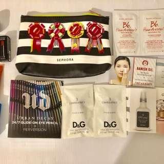 SEPHORA Skincare + Makeup With Travel Bag