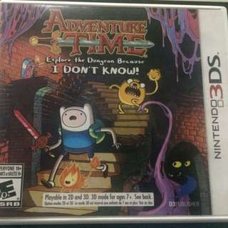 Adventure Time. Nintendo 3DS Game