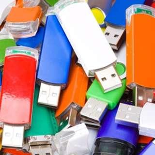 3 USB Flash Drives