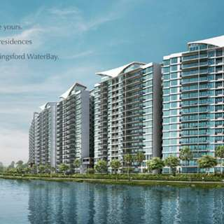 LATEST PRICE for Kingsford Waterbay,  very rare waterfront condo