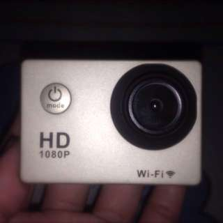 ACTION CAMERA (WIFI SUPPORT)