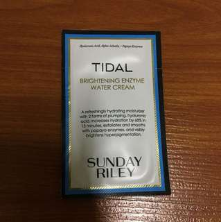 Sunday Riley Tidal Cream