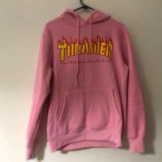 Women's size s pink thrasher hoodie