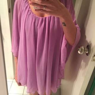 Purple Dress Size S