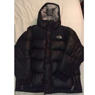 The north face puff bubble jacket