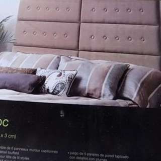 Bnib Upholstered Wall Panels / Headboard