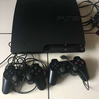 PS3 with 27 free cd games