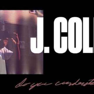 J.COLE Melb Ticket