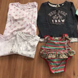 NEXT , GAP , MOTHERCARE, COTTON ON KIDS, BONDS size 18-24 month