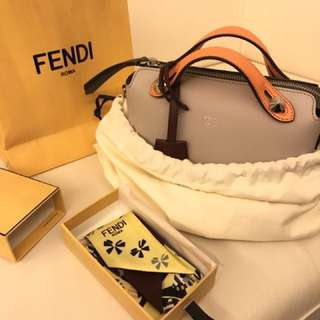 Authentic Fendi Mini By the way ( brand New) with Silk scarf