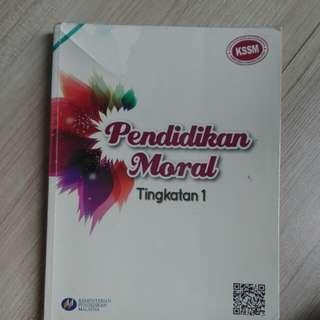 Moral KSSM tingkatan 1