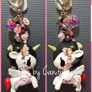 Sakura Fob with Beads