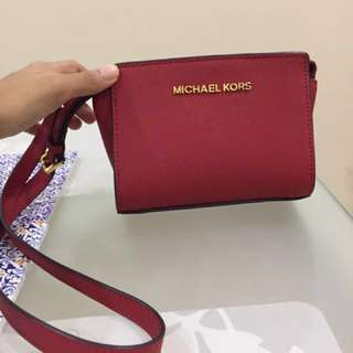 Authentic Michael Kors Mini Selma Crossbody-promo