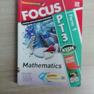 Mathematic reference book kssm form 1