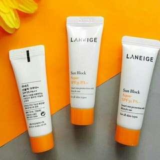 Laneige Sun Block Aqua SPF 35++ 10ml New Original 100%