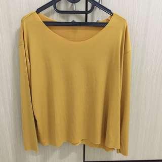 Baju Polos Kuning