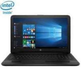Dp 600Ribuan Bawa pulang Laptop HP Celeron RAM 2GB HDD 500GB, Bisa Cicilan Tanpa Kartu Kredit