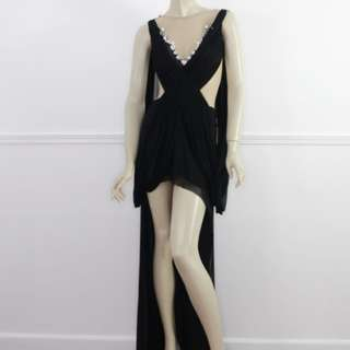 Jun Escario Black Gown