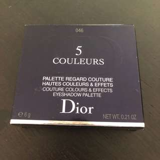 Dior 5 colour eyeshadow in 046 (golden reflections)