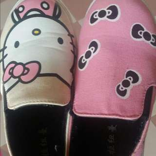Hello Kitty Covered Shoes