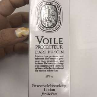 Diptyque protectivemoisturizing lotion for the face