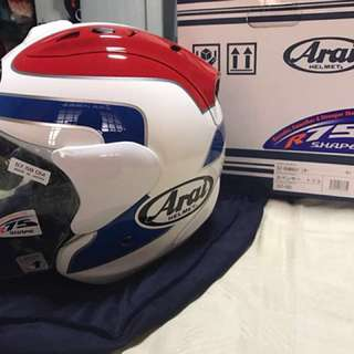 ARAI RAM 4 SPENCER Tricolour