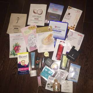 Random freebies WITH ANY PURCHASE