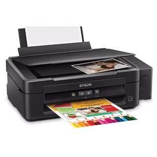 Epson L360 Ink Tank System 3-in-1 Printer (Black)