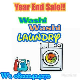Terima Laundry Kiloan/Satuan/Express/Jasa/Lowongan